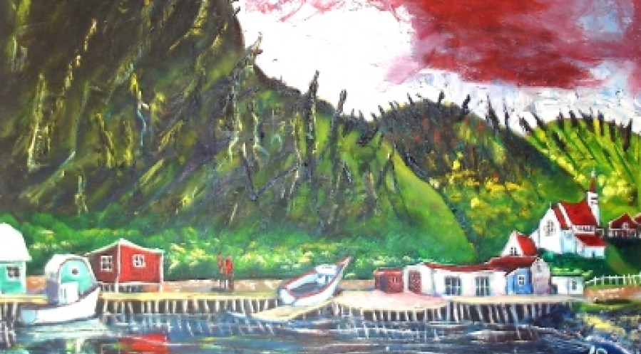 Reds in Petty Harbour