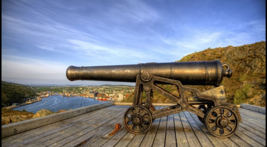 Cannon Over St. John's