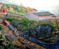 Northside_Slipw<br>ay_Pouch_Cove_30x36