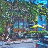 Yellow_Umbrella<br>Mirvish_Village_20x20